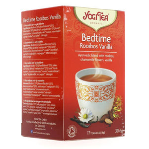 Yogi Tea Bedtime Rooibos Vanilla - 17 bags - Shipping From Just £2.99 Or FREE When You Spend £55 Or More