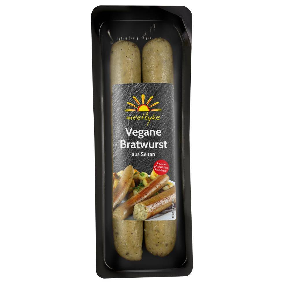 Meetlyke Bratwurst Sausages 200g - Shipping From Just £2.99 Or FREE When You Spend £60 Or More