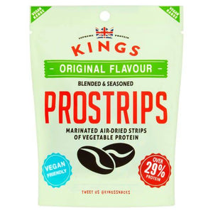 Kings Veggie Jerky Original Flavour - 25g - Shipping From Just £2.99 Or FREE When You Spend £60 Or More