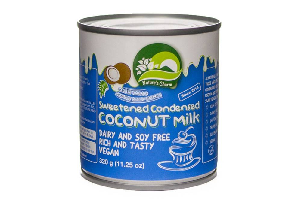 Natures Charm Sweetened Condensed Coconut Milk 320g - Shipping From Just £2.99 Or FREE When You Spend £60 Or More