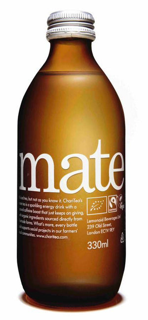 ChariTea Mate ORG Sparkling Iced Mate Tea 330ml - Shipping From Just £2.99 Or FREE When You Spend £55 Or More