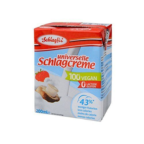 Schlagfix Vegan Unsweetened Whipping Cream 200ml