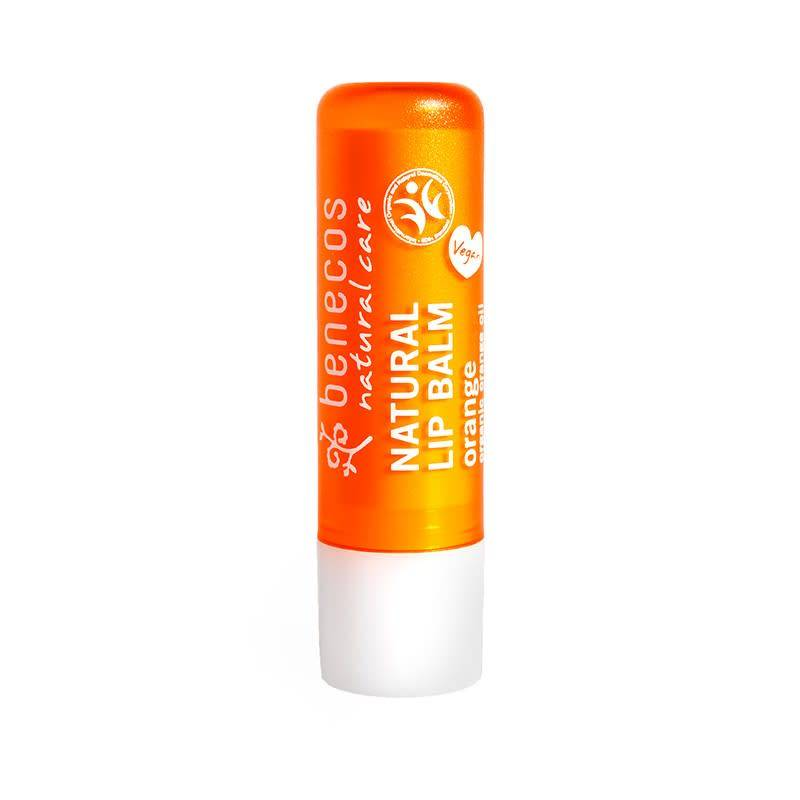 Benecos Natural Lipbalm - Orange 4.8g - Shipping From Just £2.99 Or FREE When You Spend £60 Or More