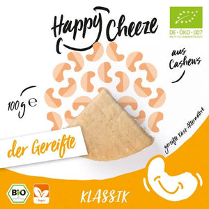 Happy Cheeze Classic Matured Cheeze 100g - Shipping From Just £2.99 Or FREE When You Spend £55 Or More