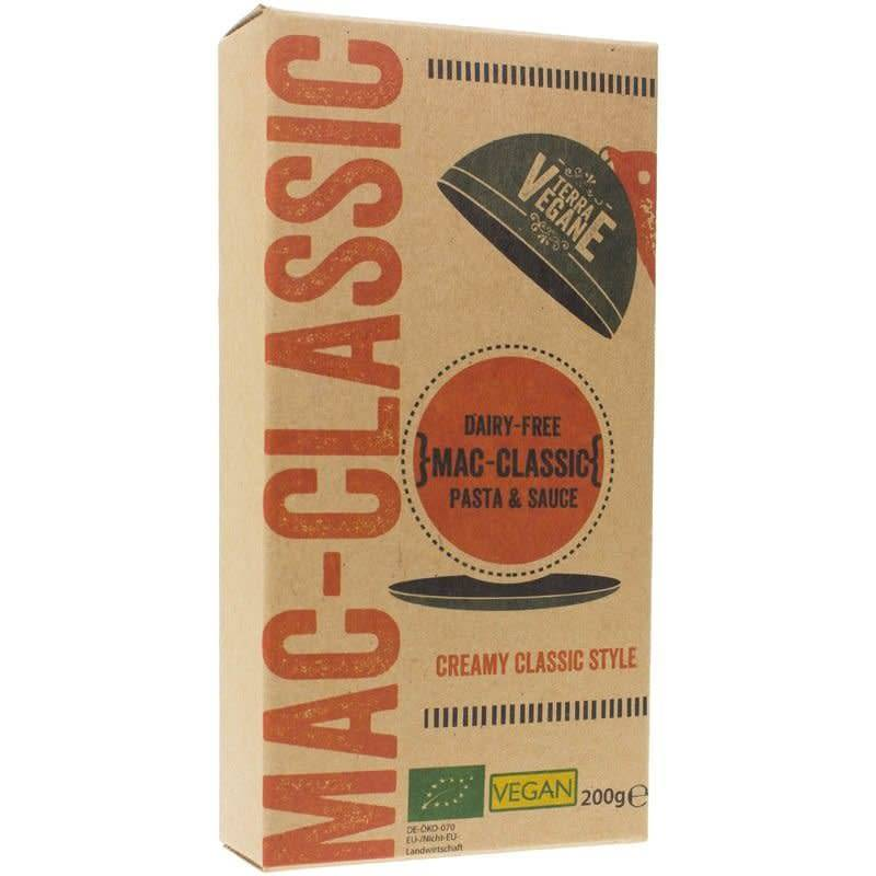 Terra Vegane Organic Mac & Cheez Cheddar 200g - Shipping From Just £2.99 Or FREE When You Spend £60 Or More