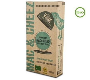 Terra Vegane Organic Mac & Cheez Alfredo 200g - Shipping From Just £2.99 Or FREE When You Spend £60 Or More