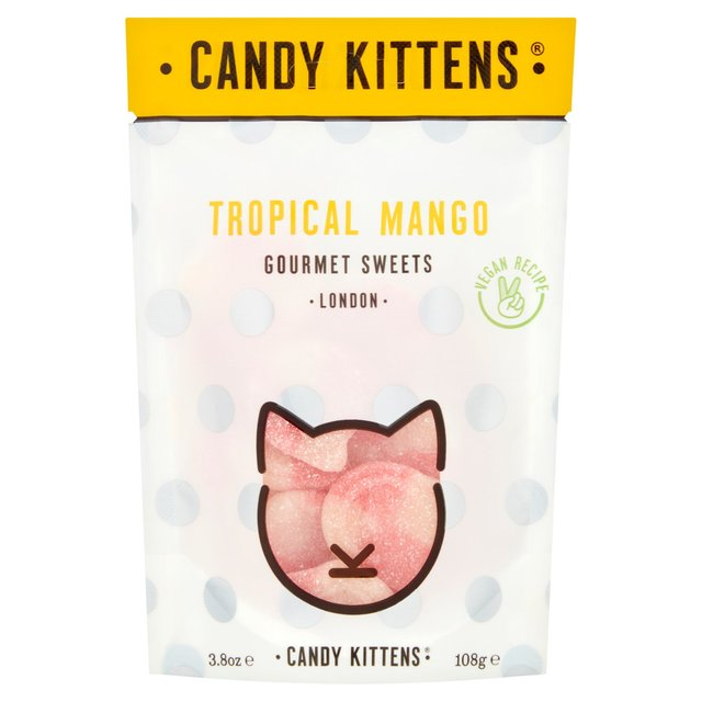 Candy Kittens Tropical Mango - 138g - Shipping From Just £2.99 Or FREE When You Spend £60 Or More