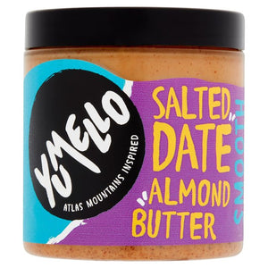 Yumello Salted Date Crunchy Almond Butter 250g - Shipping From Just £2.99 Or FREE When You Spend £60 Or More
