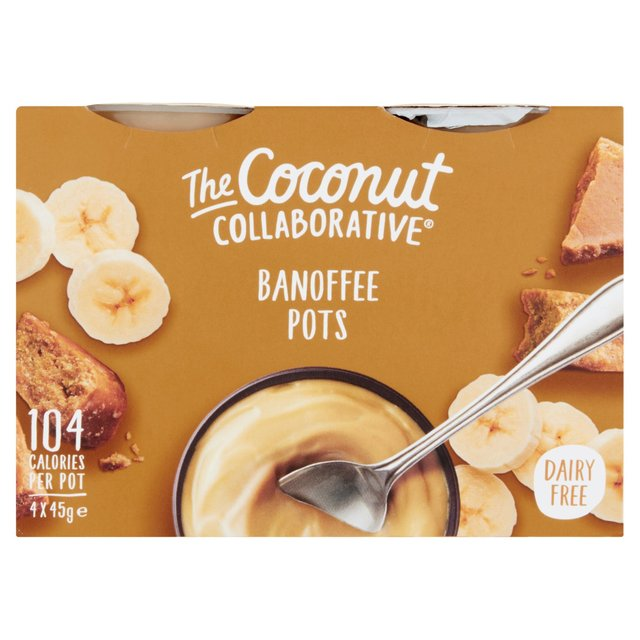 The Coconut Collaborative Banoffee Pots 4 x 45g