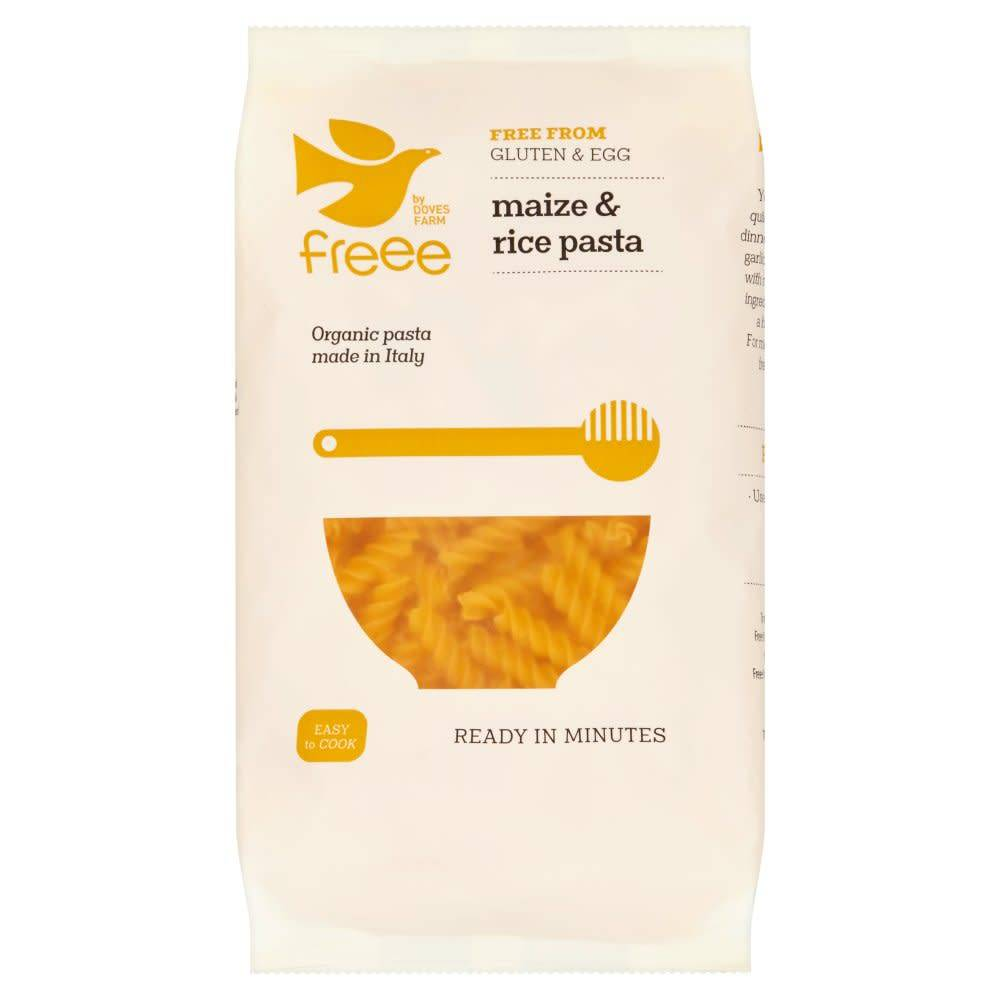 Doves Organic Maize & Rice Fusilli 500g - Shipping From Just £2.99 Or FREE When You Spend £60 Or More
