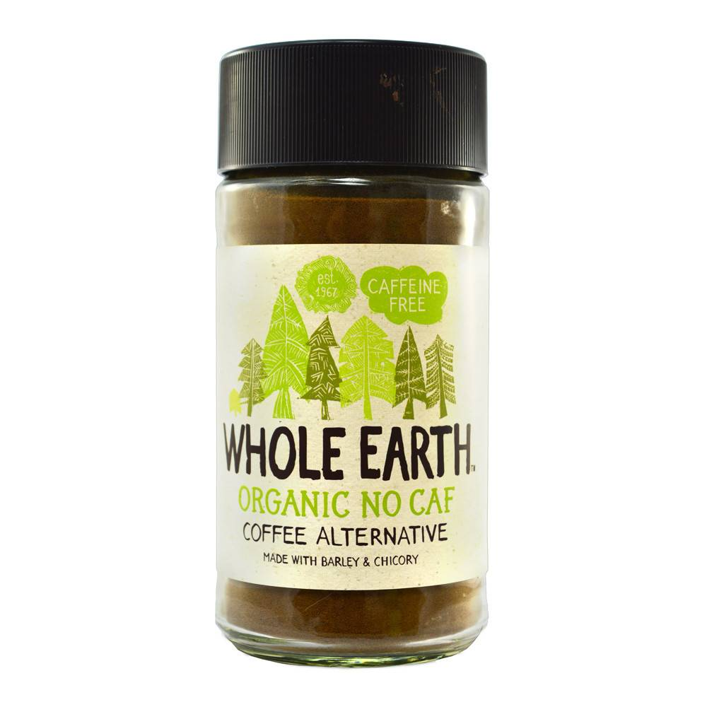 Whole Earth Organic Coffee Alternative Decaf - 100g - Shipping From Just £2.99 Or FREE When You Spend £60 Or More