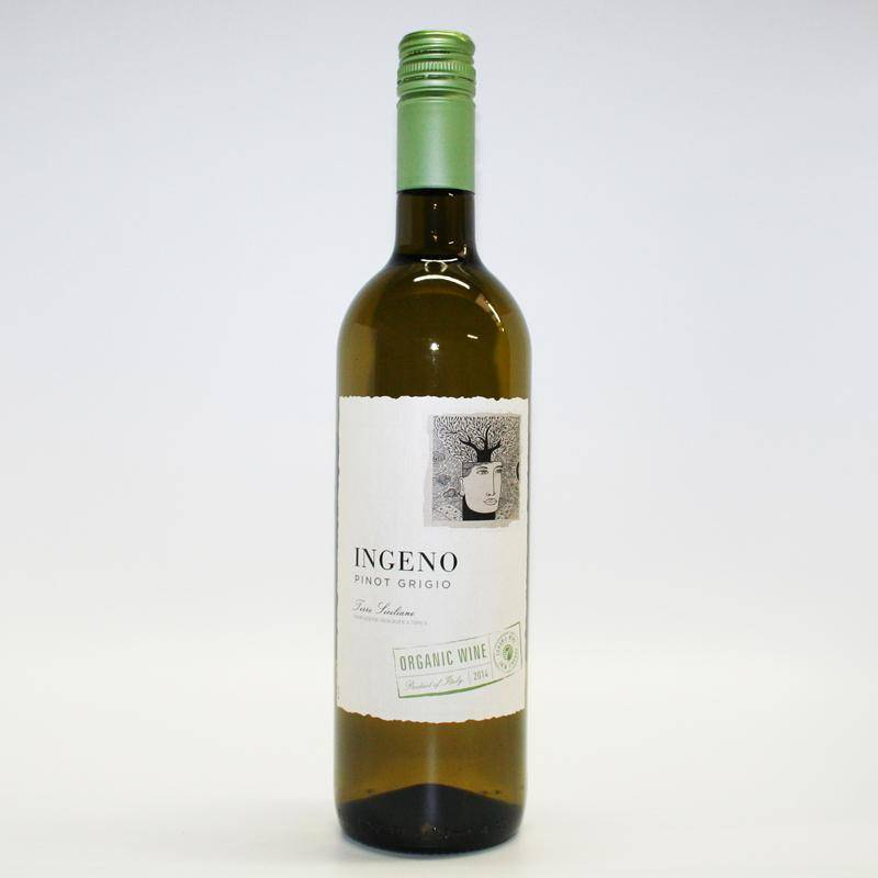 Ingeno Pinot Grigio 75cl - Shipping From Just £2.99 Or FREE When You Spend £60 Or More