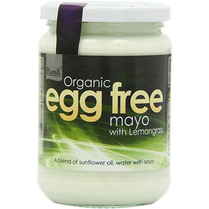 Plamil Organic Egg Free Mayonnaise Lemongrass 315g - Shipping From Just £2.99 Or FREE When You Spend £60 Or More