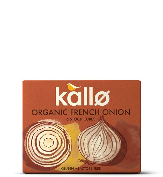 Kallo Organic French Onion Stock Cubes 66g