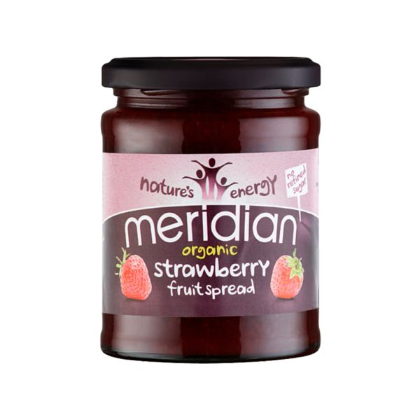 Meridian Strawberry Spread 284g - Shipping From Just £2.99 Or FREE When You Spend £55 Or More