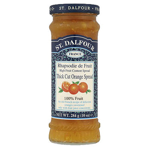 St Dalfour Orange Fruit Spread 284g - Shipping From Just £2.99 Or FREE When You Spend £55 Or More