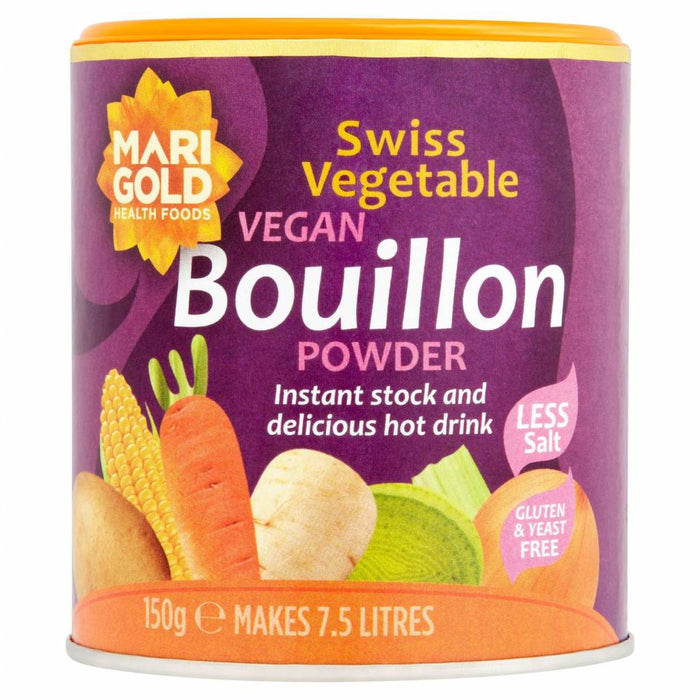 Marigold Reduced Salt Vegan Bouillon Powder 150g
