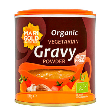 Marigold Organic Gluten Free Gravy Powder 110g - Shipping From Just £2.99 Or FREE When You Spend £60 Or More