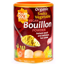 Marigold Swiss Vegetable Bouillon 500g - Shipping From Just £2.99 Or FREE When You Spend £60 Or More