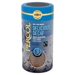 Percol Fairtrade Decaf Colombian Instant Coffee 100g
