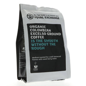 Equal Exchange Colombian Ground Coffee 227g - Shipping From Just £2.99 Or FREE When You Spend £60 Or More