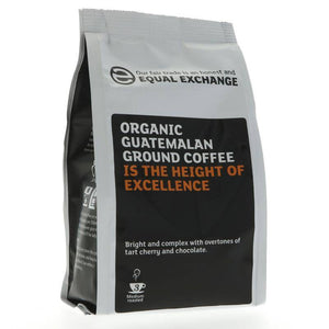 Equal Exchange Guatemalan Ground Coffee 227g - Shipping From Just £2.99 Or FREE When You Spend £60 Or More