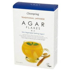 Clearspring Agar Flakes 28g - Shipping From Just £2.99 Or FREE When You Spend £55 Or More