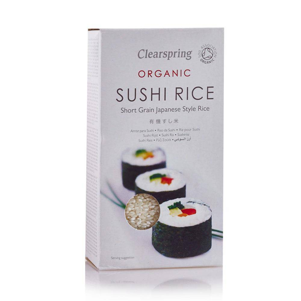 Clearspring Sushi Rice - 500g - Shipping From Just £2.99 Or FREE When You Spend £60 Or More