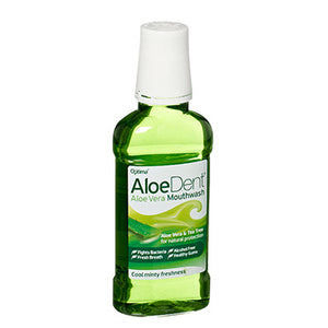 Aloe Dent Aloe Mouthwash 250ml - Shipping From Just £2.99 Or FREE When You Spend £55 Or More
