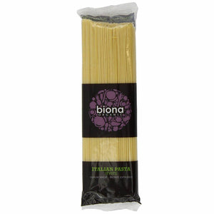 Biona Organic Durum Wheat Spaghetti 500g - Shipping From Just £2.99 Or FREE When You Spend £55 Or More
