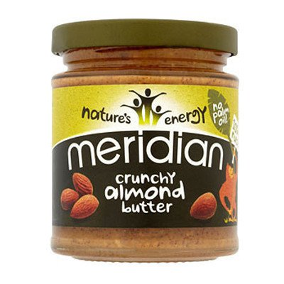 Meridian Almond Butter Crunchy 170g - Shipping From Just £2.99 Or FREE When You Spend £55 Or More