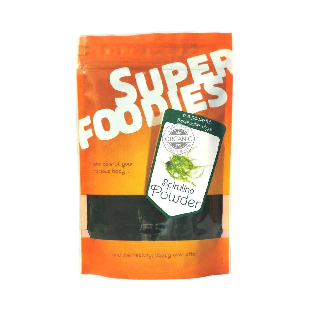 Superfoodies Organic Spirulina Powder 100g - Shipping From Just £2.99 Or FREE When You Spend £55 Or More