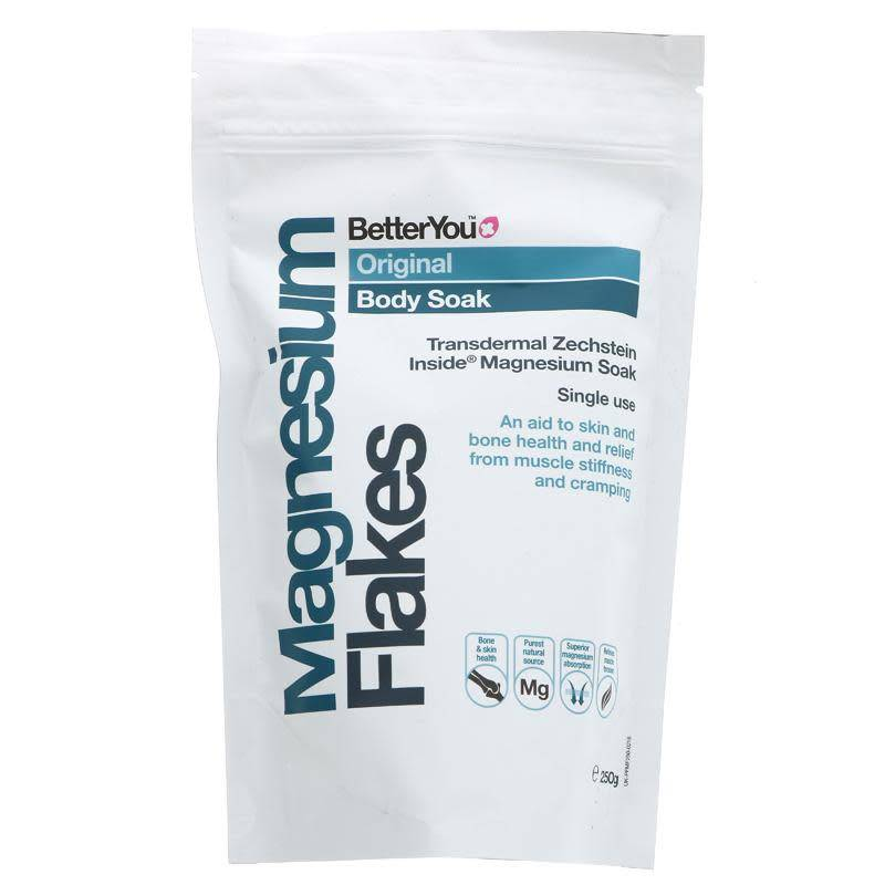 Better You Magnesium Flakes 250g - Shipping From Just £2.99 Or FREE When You Spend £55 Or More