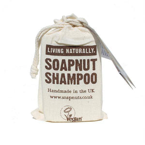 Living Naturally Coconutty Soapnut Shampoo Bar 90g