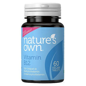 Nature's Own Vitamin B12 60 Tabs - Shipping From Just £2.99 Or FREE When You Spend £60 Or More