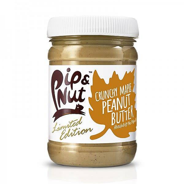 Pip & Nut Crunchy Maple Peanut Butter - 225g - Shipping From Just £2.99 Or FREE When You Spend £55 Or More