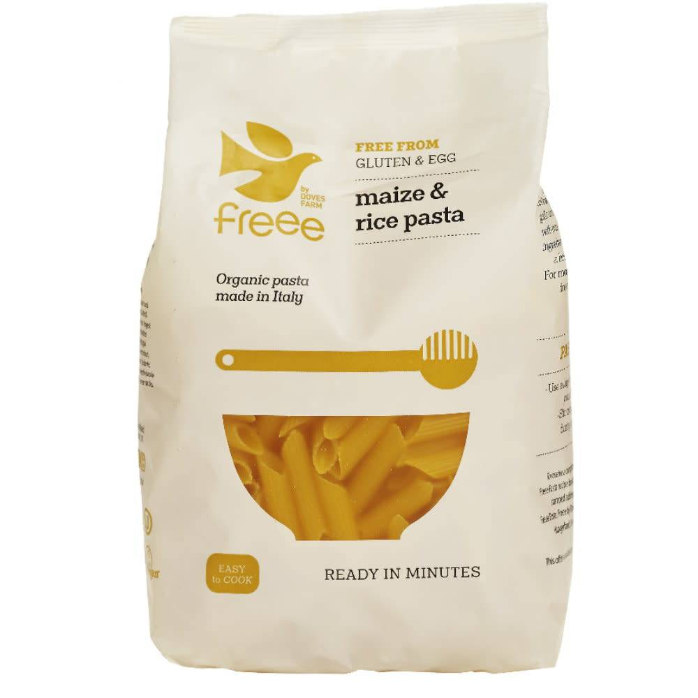 Doves Organic Maize & Rice Penne 500g - Shipping From Just £2.99 Or FREE When You Spend £60 Or More