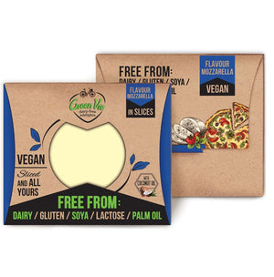 GreenVie Mozzarella Slices 180g - Shipping From Just £2.99 Or FREE When You Spend £60 Or More