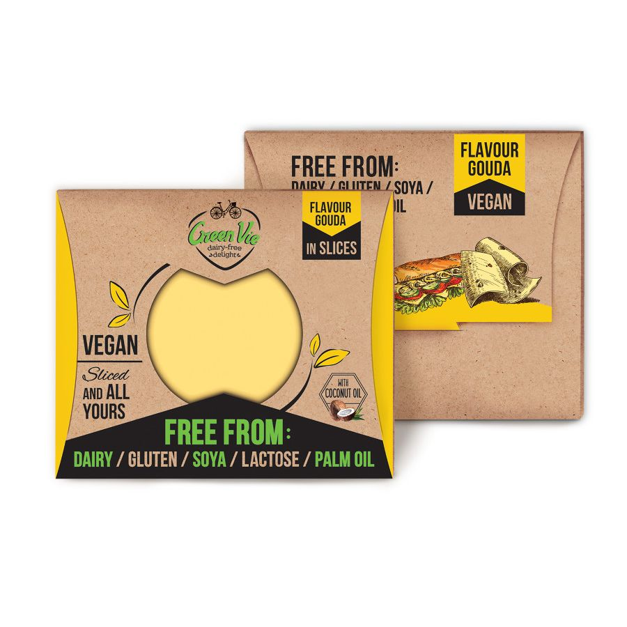Greenvie Gouda Slices 180g - Shipping From Just £2.99 Or FREE When You Spend £55 Or More