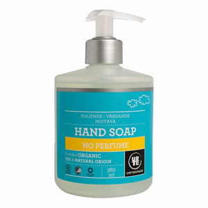 Urtekram Liquid Hand Soap No Perfume 380ml - Shipping From Just £2.99 Or FREE When You Spend £60 Or More