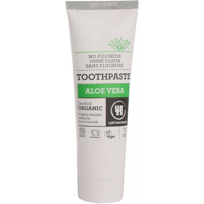 Urtekram Aloe Vera Toothpaste 75ml - Shipping From Just £2.99 Or FREE When You Spend £60 Or More