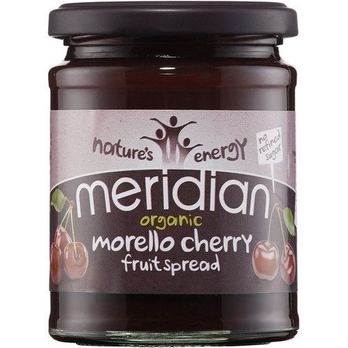 Meridian Morello Cherry Spread 284g - Shipping From Just £2.99 Or FREE When You Spend £60 Or More