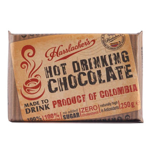 Hasslacher's Bar of Drinking Chocolate - 250g