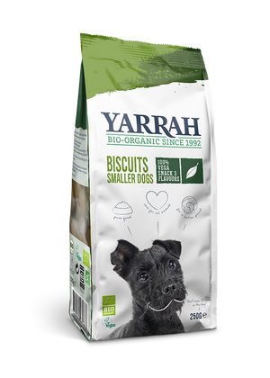 Yarrah Organic Vega Dog Biscuits For Smaller Dogs - 250g - Shipping From Just £2.99 Or FREE When You Spend £60 Or More