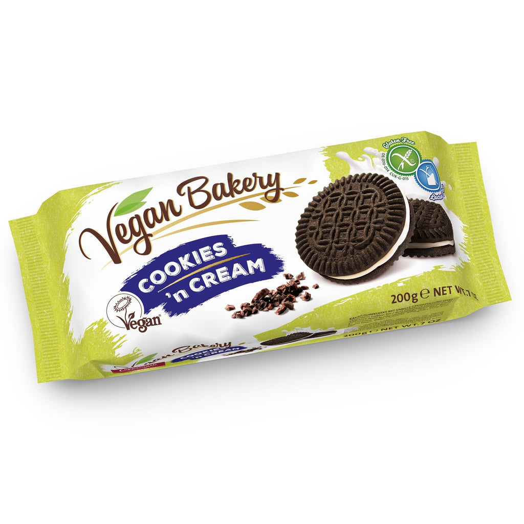 Vegan Bakery Cookie N'Cream 200g - Shipping From Just £2.99 Or FREE When You Spend £55 Or More
