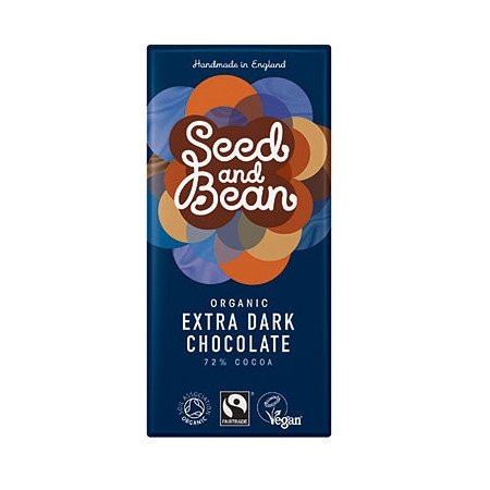 Seed & Bean Extra Dark Chocolate 72% 75g
