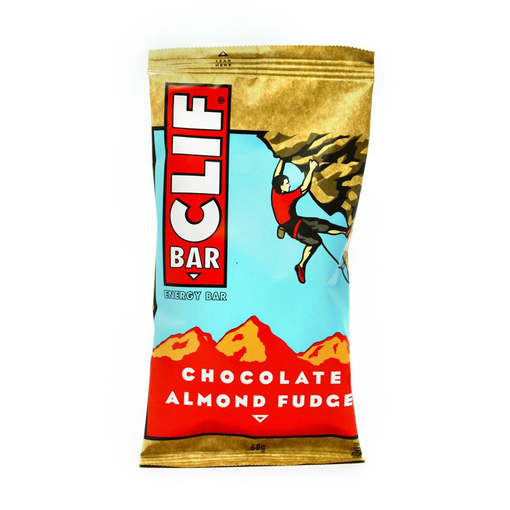Clif Chocolate Almond Fudge Bar 68g - Shipping From Just £2.99 Or FREE When You Spend £60 Or More
