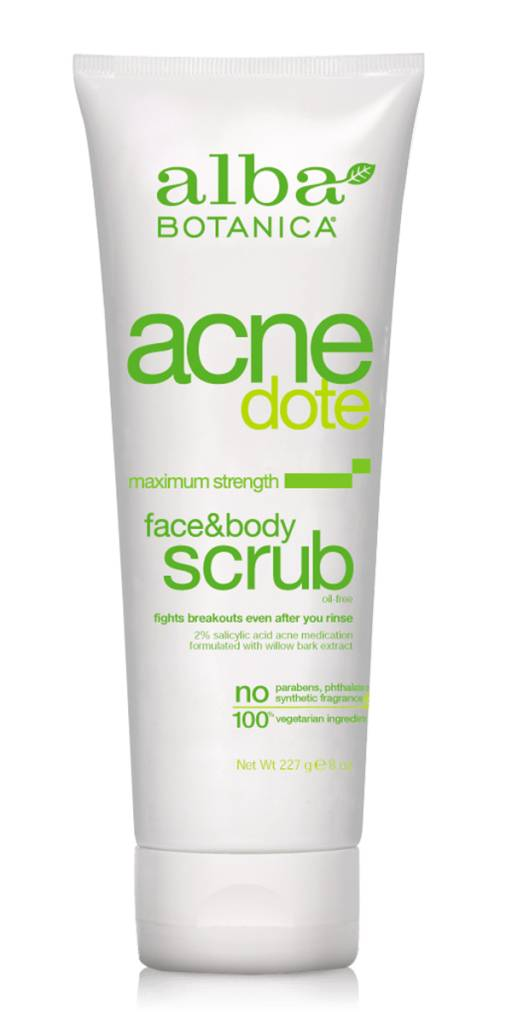 AB Acne Face and Body Scrub 227g - Shipping From Just £2.99 Or FREE When You Spend £55 Or More