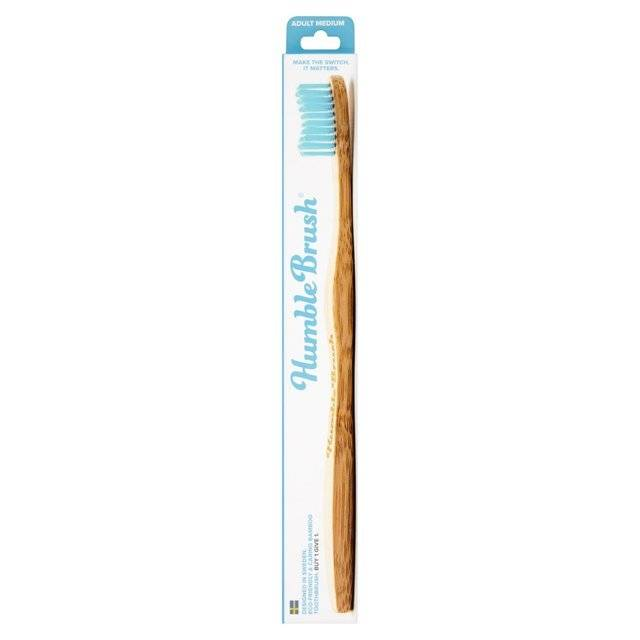 Adult Blue Medium Toothbrush - Shipping From Just £2.99 Or FREE When You Spend £60 Or More
