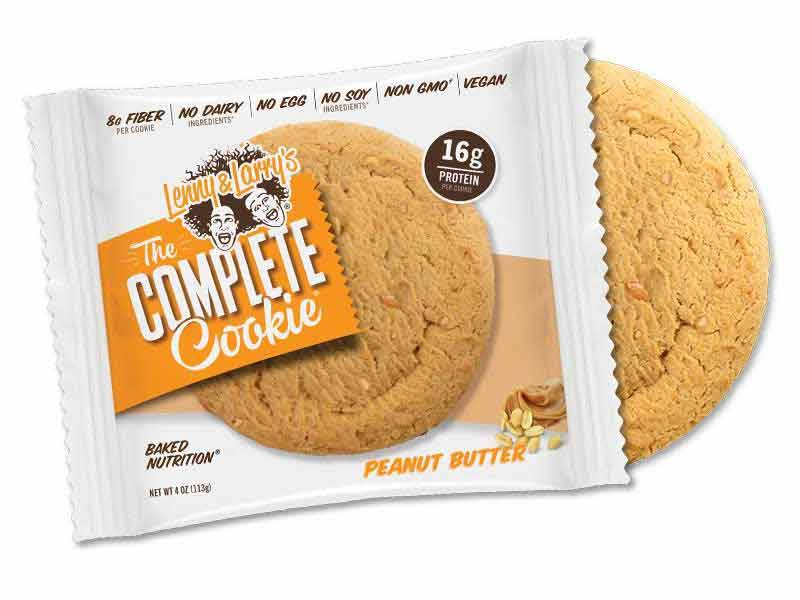 Lenny & Larry's Complete Cookie Peanut Butter 113g - Shipping From Just £2.99 Or FREE When You Spend £55 Or More